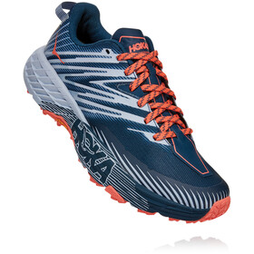 Hoka One One Speedgoat 4 Buty Kobiety, majolica blue/heather